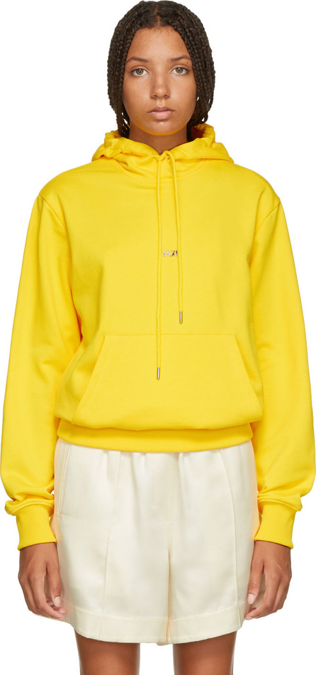 Helmut Lang Yellow New York Edition Taxi Hoodie