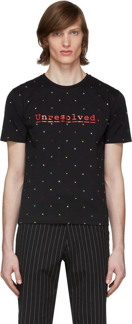 Paco Rabanne Black Peter Saville Edition 'Unresolved' T-Shirt