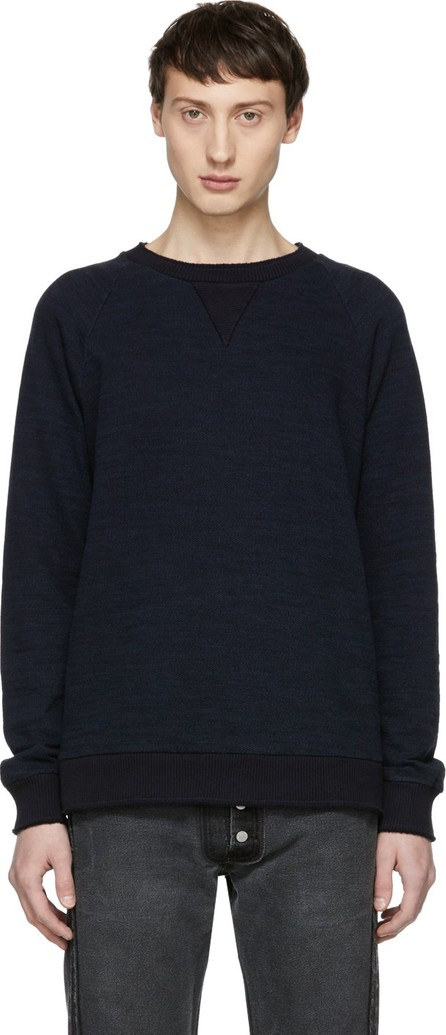 Blue Blue Japan Navy Big Slub Sweatshirt