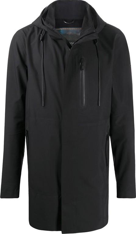 Moose Knuckles Hooded short rain jacket