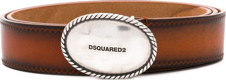 DSQUARED2 Round emblem belt