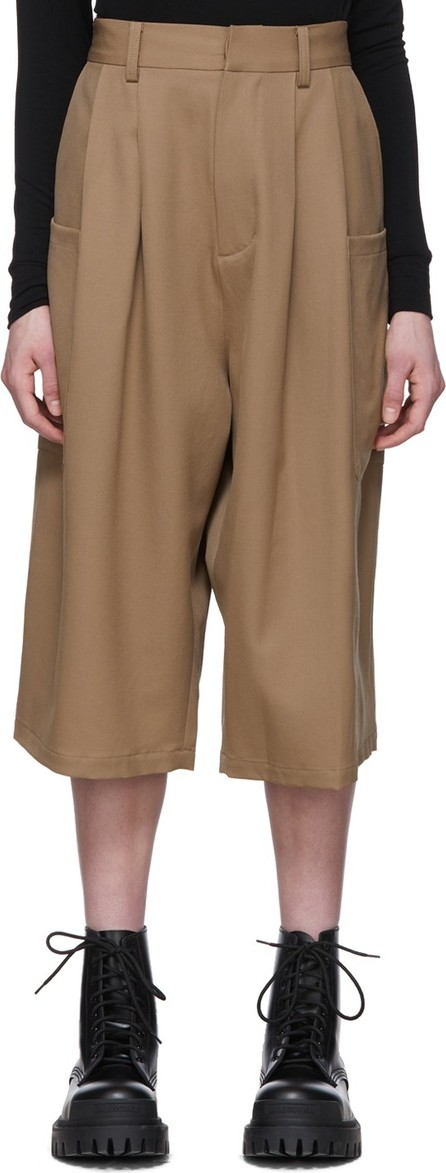 Ambush Beige Harem Shorts
