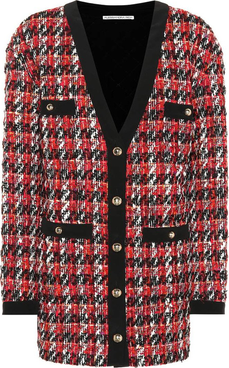 Alessandra Rich Bouclé wool-blend jacket