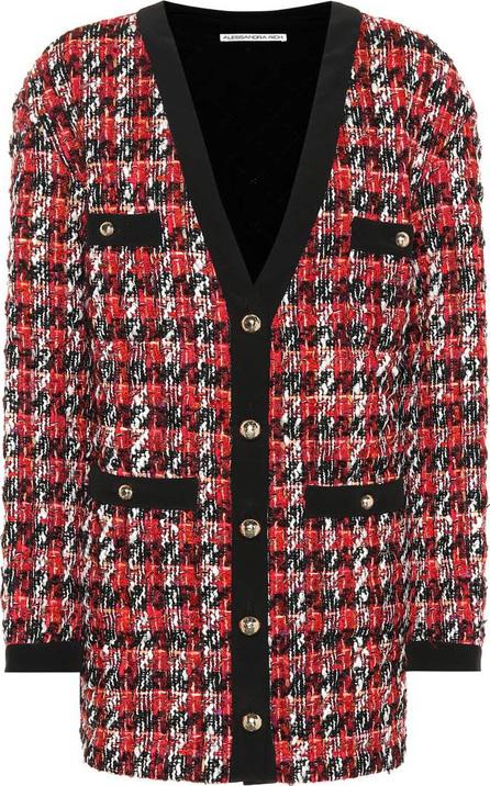Alessandra Rich Bouclé wool-blend jacket