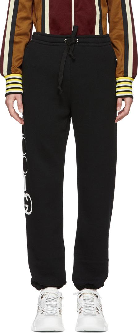 Gucci Black Interlock GG Lounge Pants