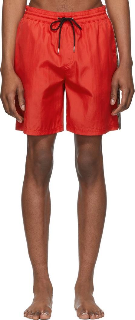 Burberry London England Red Grafton Swim Shorts