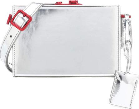 Calvin Klein 205W39NYC Metallic leather crossbody bag