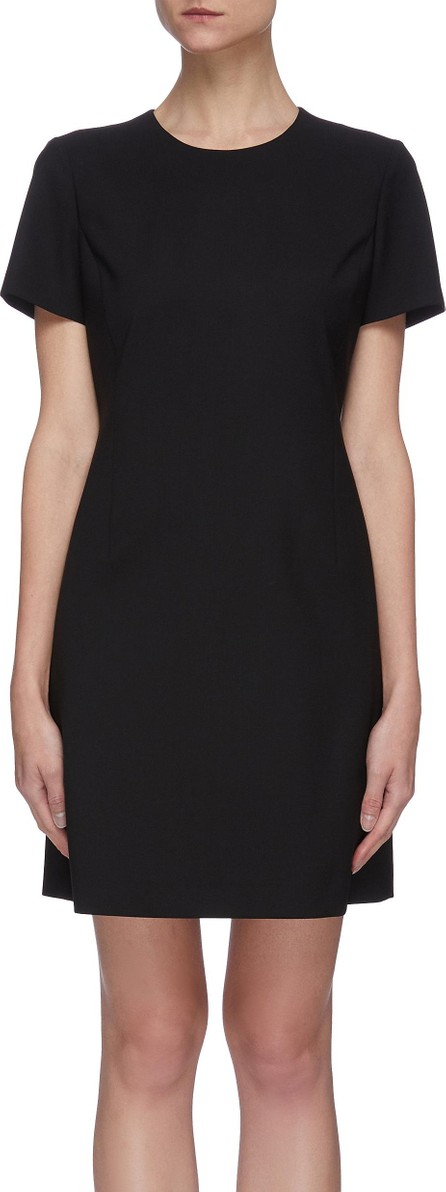Theory Traceable darted wool blend dress
