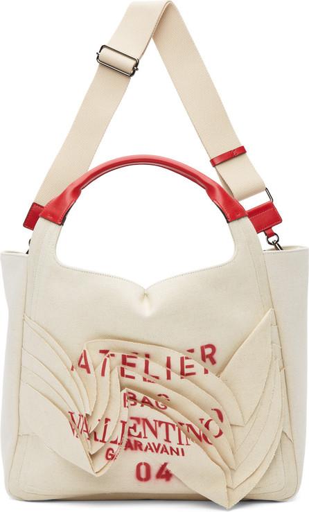 Valentino Beige Valentino Garavani 'Atelier Bag 04' Tote