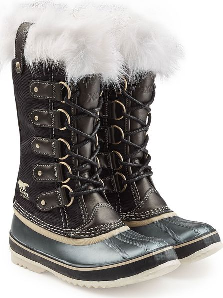 Sorel Joan of Arctic x Celebration Leather Ankle Boots