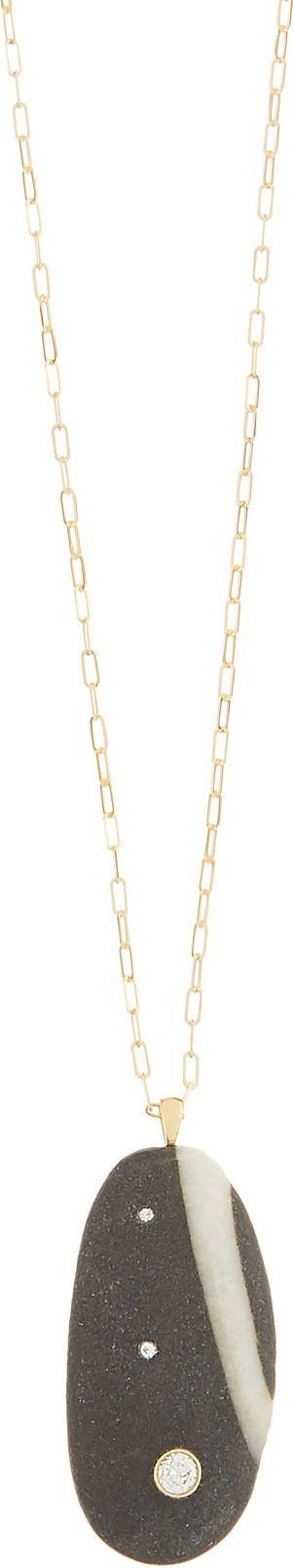 Cvc Stones Brazen diamond & 18kt gold necklace