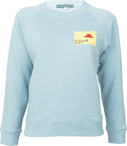 Alexachung gel a chung print sweatshirt