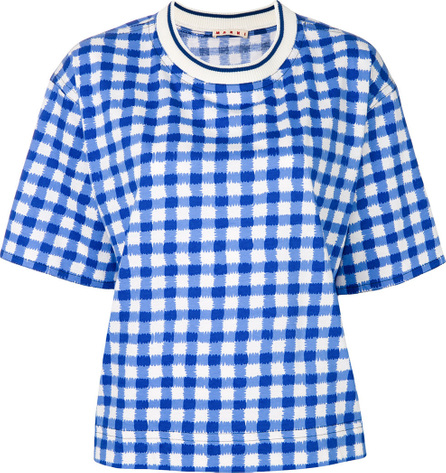 Marni Checked print T-shirt