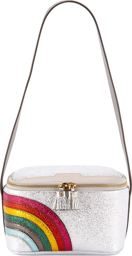 Anya Hindmarch Lunch Box Rainbow Shoulder Bag