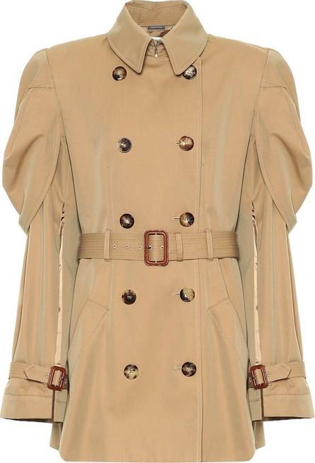 Alexander McQueen Belted cotton jacket