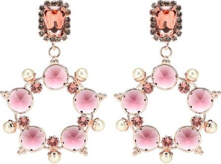Erdem Embellished drop earrings