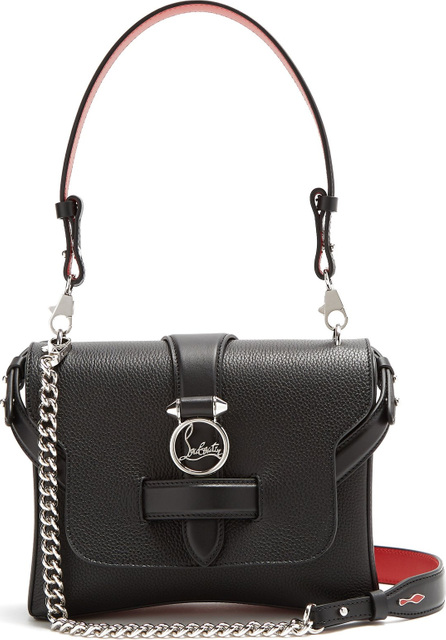 Christian Louboutin Rubylou small leather shoulder bag