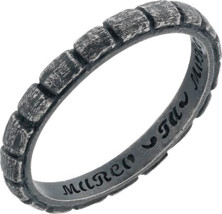 Marco Dal Maso Men's Vintage Silver Band Ring, Size 10