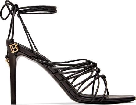 Balmain Mikki knotted leather sandals