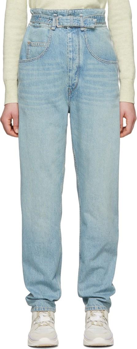 Isabel Marant Etoile Blue Gloria Jeans