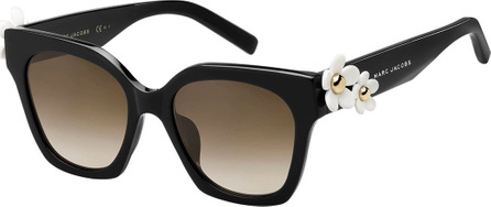 MARC JACOBS Square Acetate Daisy Sunglasses