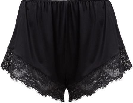 Hanro Laila lace-trimmed satin pyjama shorts