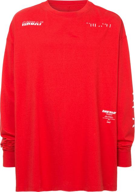 Ben Taverniti Unravel Project Crew neck sweatshirt