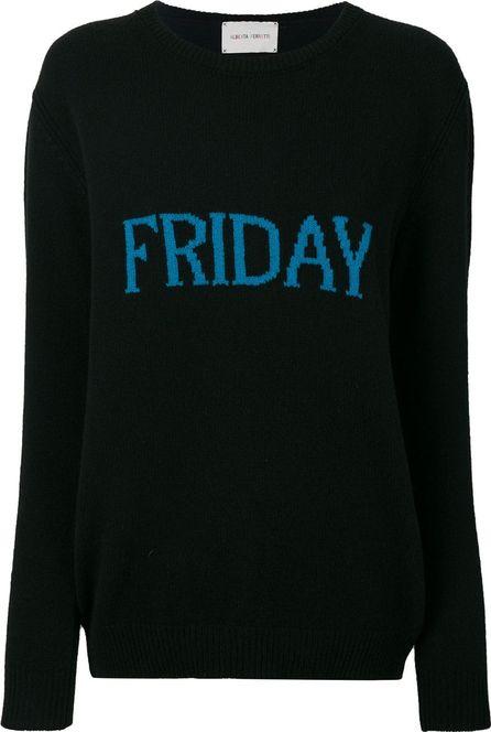 Alberta Ferretti Friday intarsia jumper