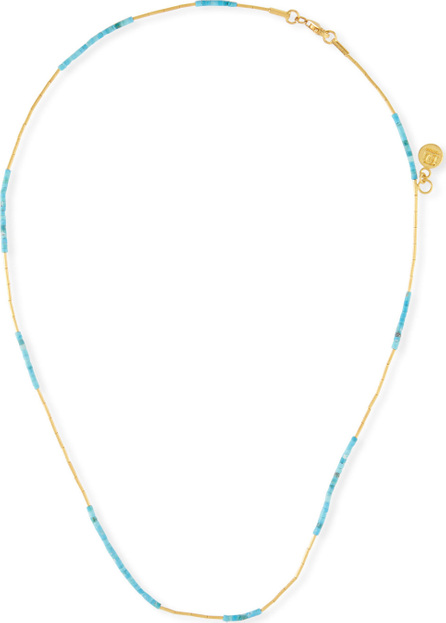 GURHAN 24k Waterfall Turquoise Necklace