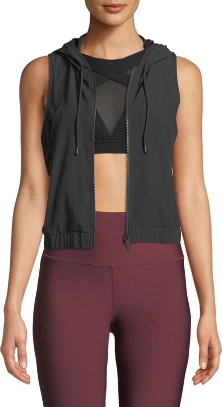 Alo Yoga Frame Hooded Mesh Activewear Vest