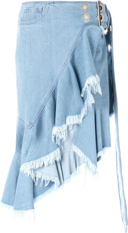Marques'Almeida Asymmetric denim skirt