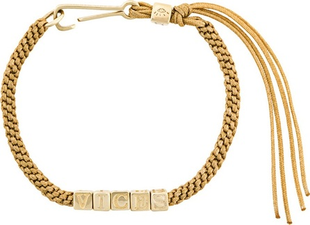 Abril Barret 'Vices' bead and cord bracelet