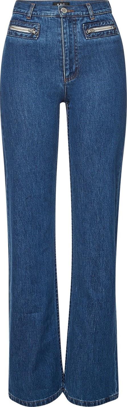A.P.C. Newport High-Waist Jeans
