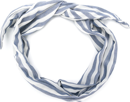 Cult Gaia Striped tied headband
