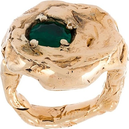Alice Waese 'Terra' ring with emerald