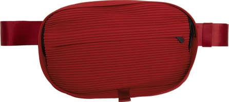 Homme Plissé Issey Miyake Red Pleated Waist Bag