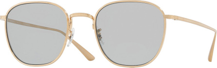 Oliver Peoples Board Meeting Square Photochromic Titanium Sunglasses