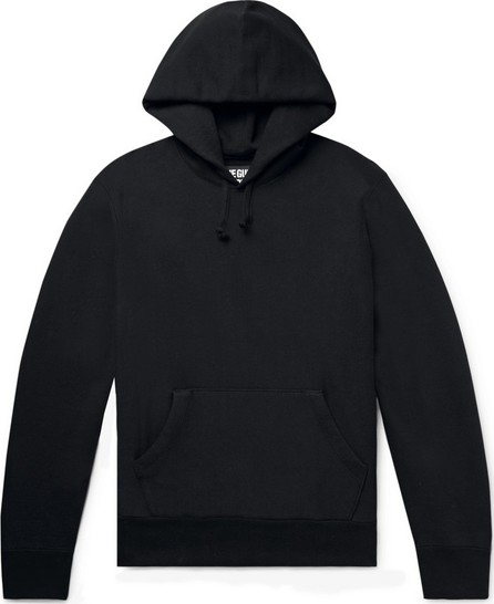 Wacko Maria Printed Fleece-Back Cotton-Jersey Hoodie