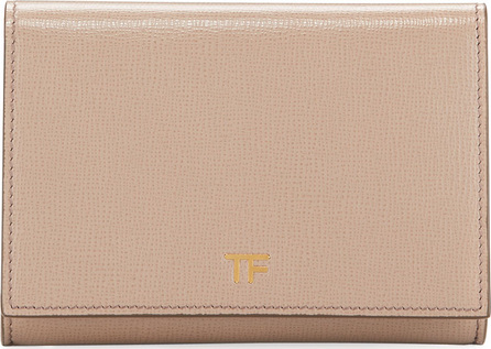 TOM FORD Saffiano Flap Line Wallet