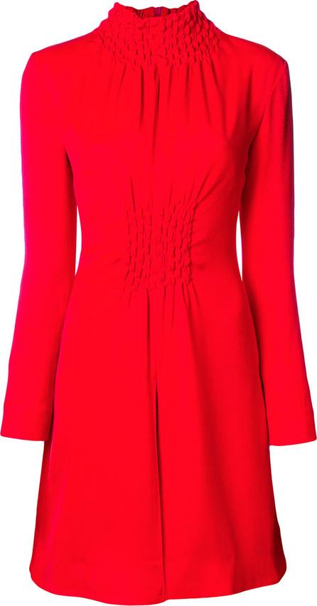 Aalto Smocked high neck mini dress