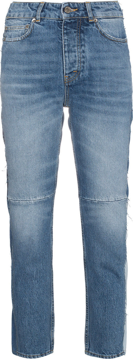 Golden Goose Deluxe Brand Mid rise patchwork jeans