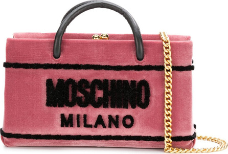 Moschino Box clutch bag