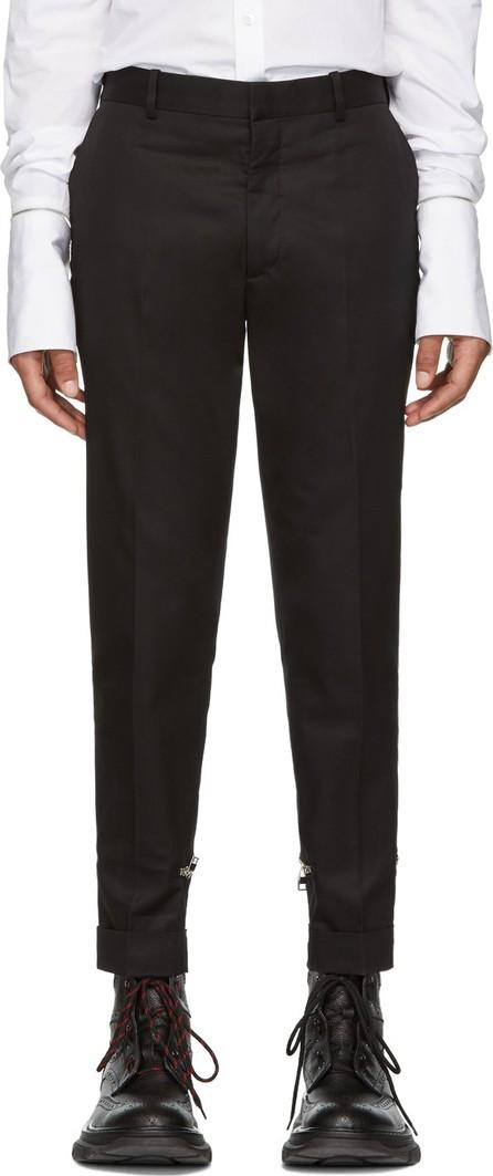 Alexander McQueen Black Chino Trousers