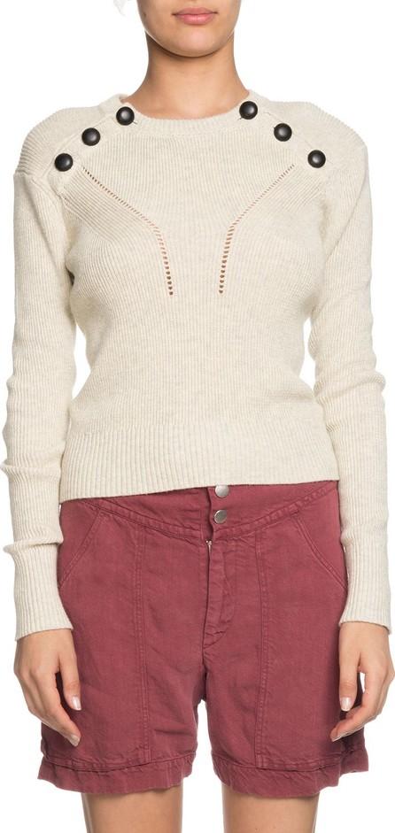 Isabel Marant Etoile Koyla Button-Shoulder Knit Sweater