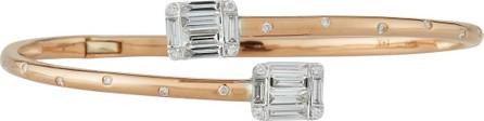 Andreoli Diamond Bypass Bracelet in 18k Rose Gold
