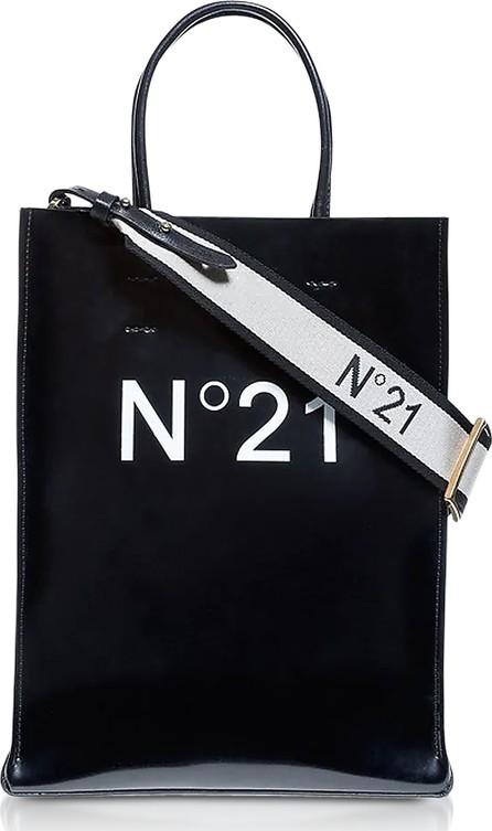 N°21 Black Signature Small Tote Bag