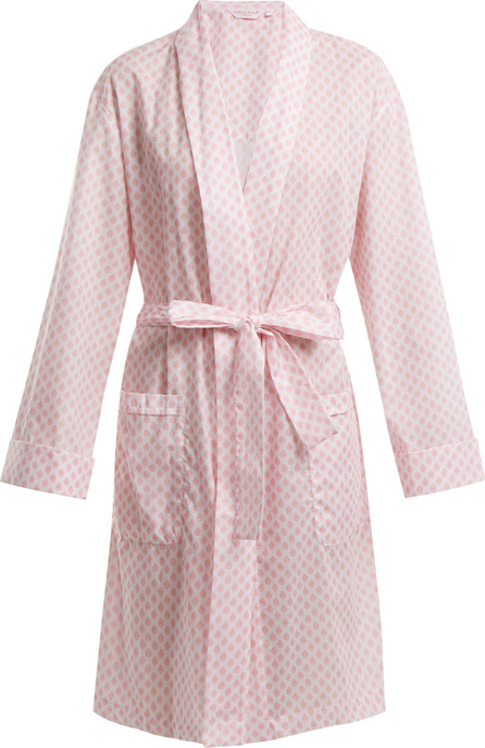 Derek Rose Ledbury 9 tie-waist cotton robe