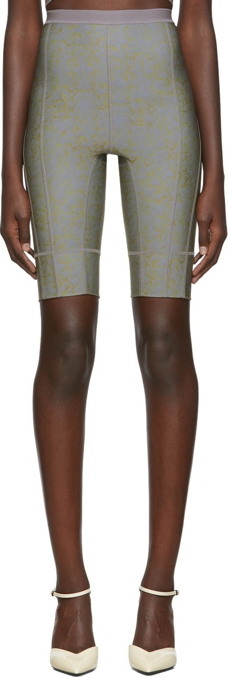 Charlotte Knowles SSENSE Exclusive Grey Vyper Shorts