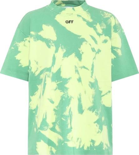 Off White Tie-dye cotton T-shirt
