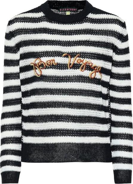 Alexachung Striped linen sweater